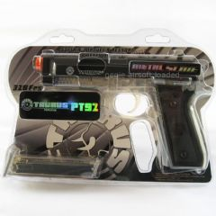 Taurus PT92 Airsoft Pistol with Black Metal Slide